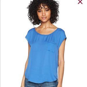 Joie 'Hina' Blue 100% Silk Blouse